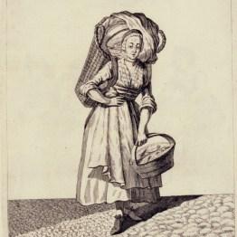 gdańscy wywoływacze - handlarka rybami