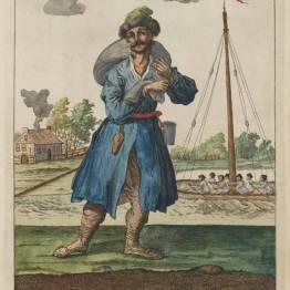 gdańscy wywoływacze - handlarz kaszą