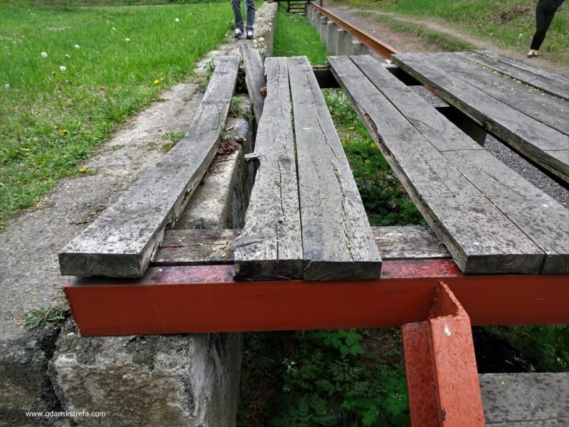 Westerplatte, zrekonstruowana rampa kolejowa