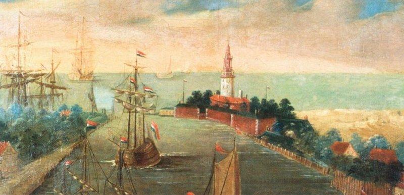 Twierdza Wisłoujście po 1724
