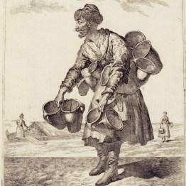 gdańscy wywoływacze - sprzedający garnki