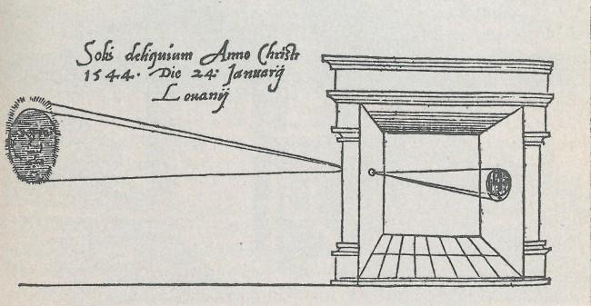 camera obscura 1545