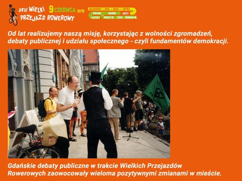 Tradycją tej wielkiej imprezy masowej był udział urzędników miejskich.