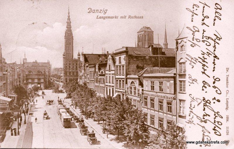 Długi Targ i Ratusz Prawego Miasta