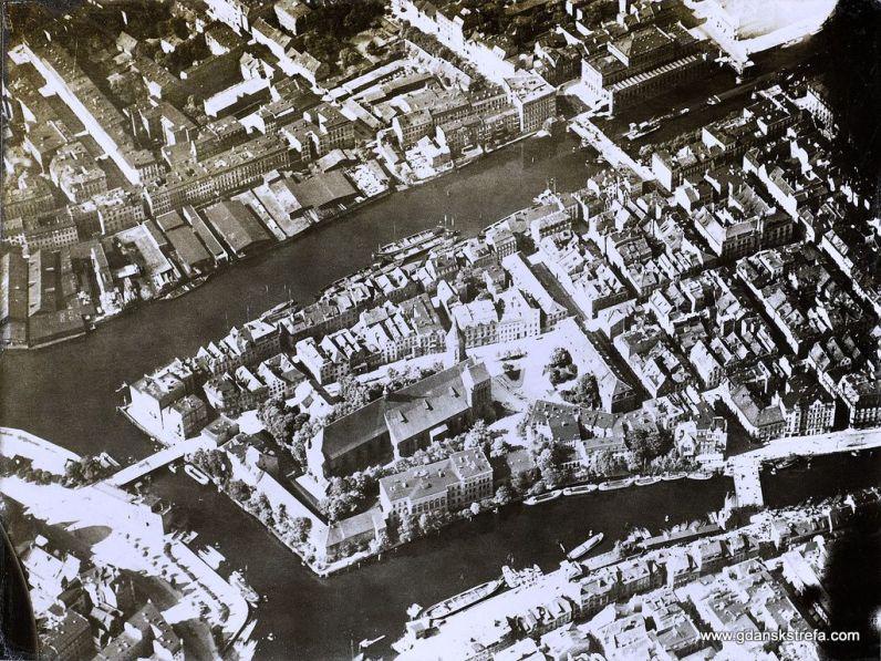 Kneiphof, centrum Królewca