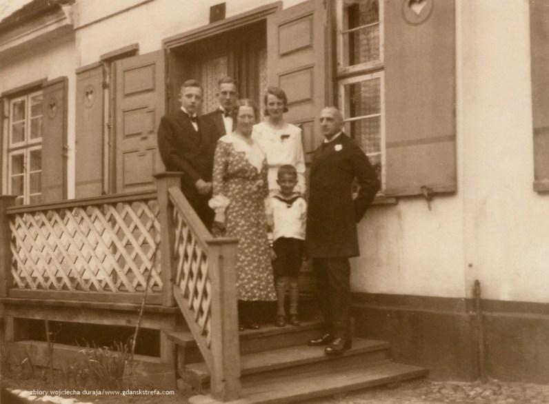 Willi i Johanna z dziećmi: Gerhard, Hildegard, Peter i Willi