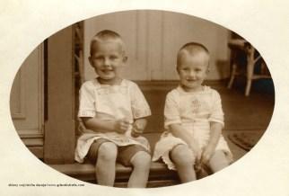 Gerhard i Hilda w 1917 r.