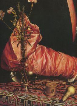 Portret Georga Giese - detal