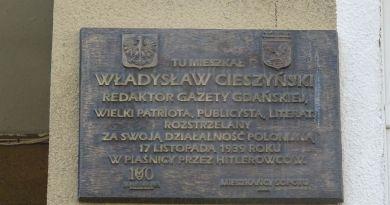 Władysław Cieszyński – naczelny Gazety Gdańskiej