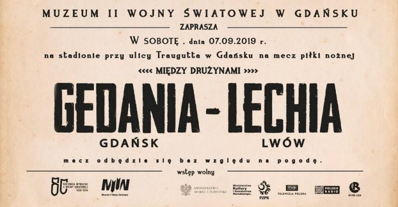 Gedania Gdańsk - Lechia Lwów, mecz, który się nie obył