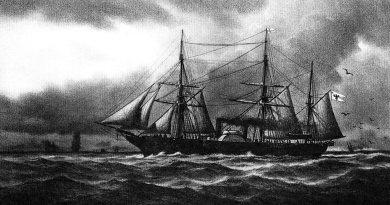 SMS Danzig zwod. w roku 1853