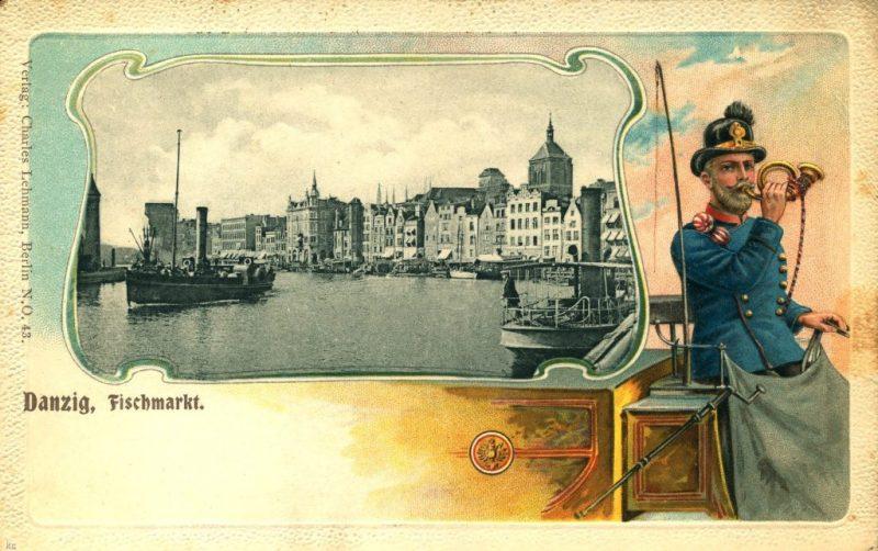 Rybackie Pobrzeże w 1899 r.