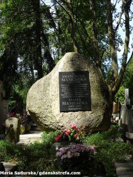 Grób Franciszka Mamuszki