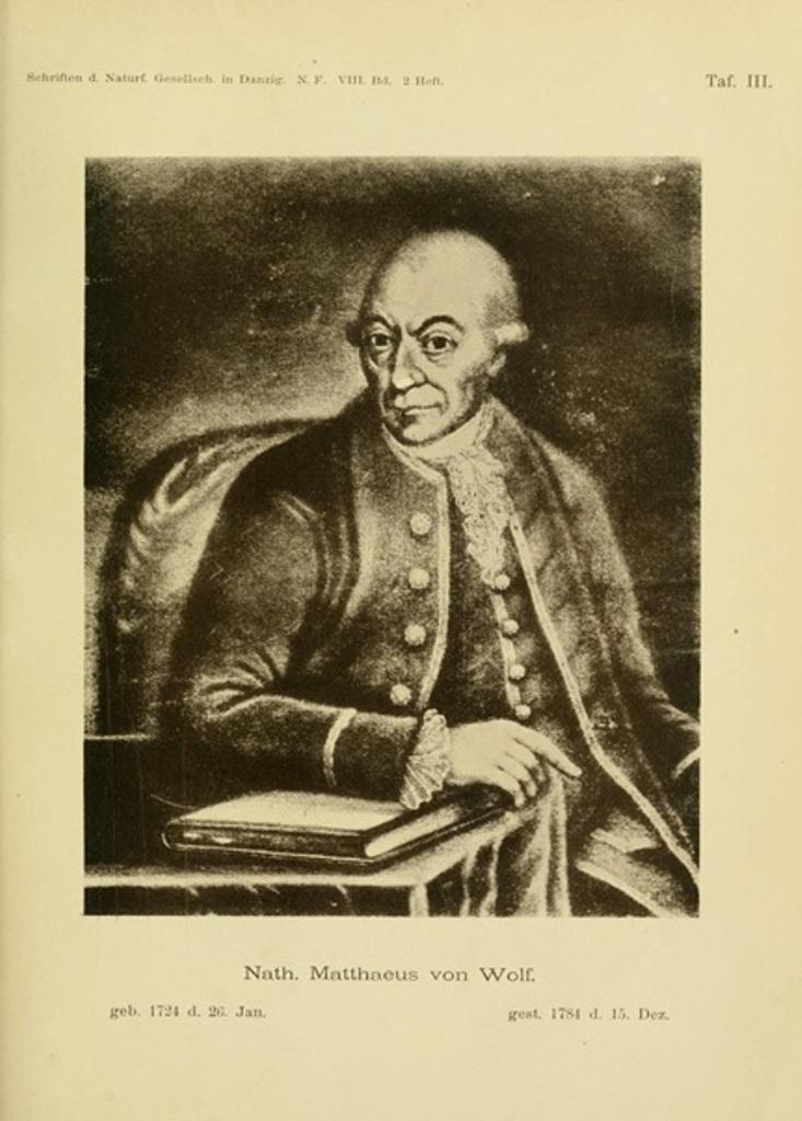 Nathanael Mattäus von Wolf, lekarz i astronom