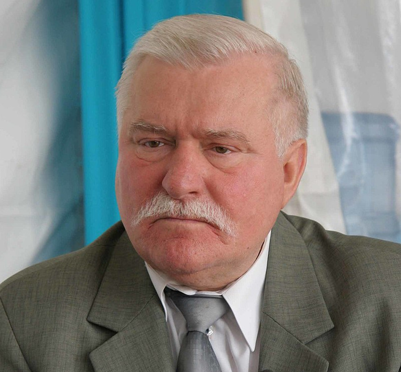 Lech Wałęsa, fot. Wikipedia
