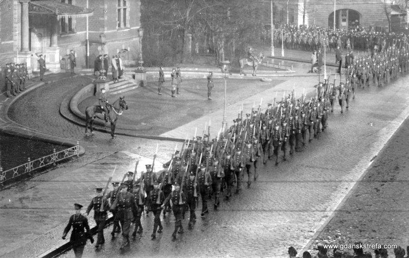 Wojska sprzymierzone w Gdańsku, rok 1920