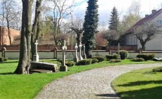 Pelplin - stary cmentarz