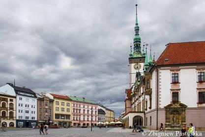 Ratusz gotycki z XV w. w Ołomuńcu