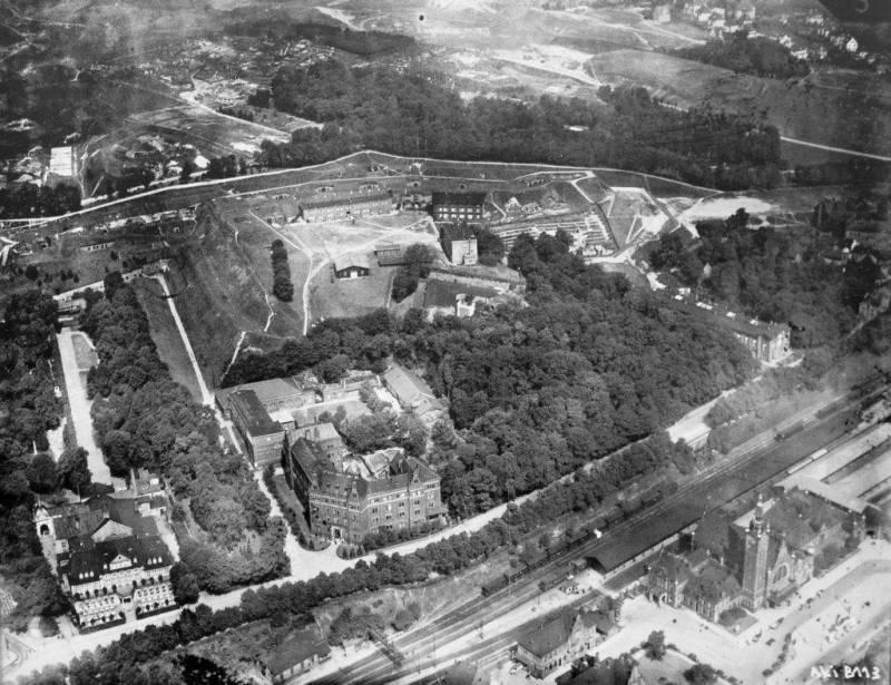 Góra Gradowa w 1929 r.