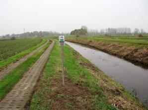 Szlak Kłodawski, rowerowy po wale kanału Kłodawy