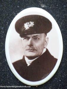 Zdjęcie J. Poznańskiego z pomnika nagrobnego