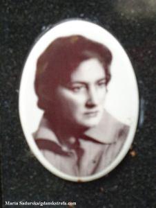 Zdjęcie z pomnika nagrobnego Zofii Poznańskiej