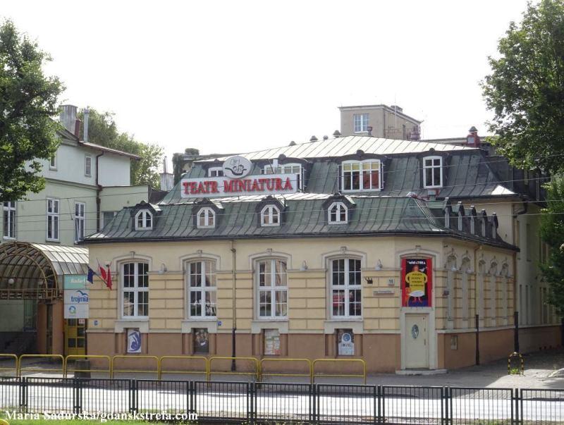 """Siedziba Teatru Miejskiego """"Miniatura"""", dawna kawiarnia """"Café Stoeckmann"""""""