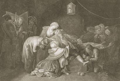 Daniel Chodowiecki, Wielki Calas, akwaforta, 1768, kolekcja prywatna, reprodukcja Jakub Pączek