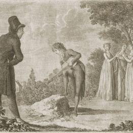 Daniel Chodowiecki, Monsieur de Vollange, akwaforta, 1798, E. 884 STAN C, kolekcja prywatna, reprodukcja Jakub Pączek