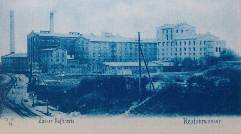 Rafineria cukru w Nowym Porcie