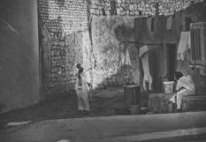 Asuan, uliczka z codziennym praniem