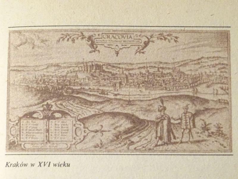 Kraków w XVI w.