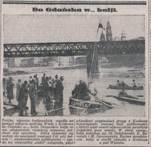 Z Krakowa do Gdańska… balią.