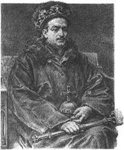 Kazimierz Jagiellończyk, J. Matejko. Wikipedia