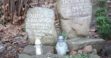 Grób Aleksandra i jego córki Izabelli na gdańskim Srebrzysku