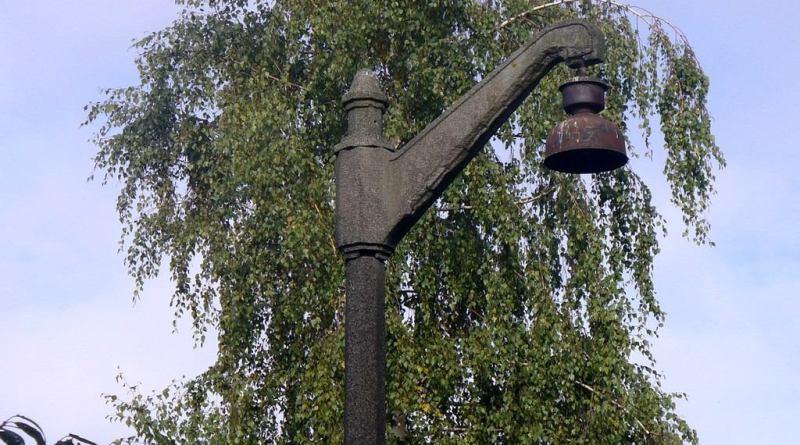 Przedwojenne lampy na Podstocznej