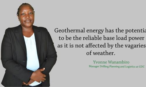 #WomenInGeothermal Yvonne Wanambiro