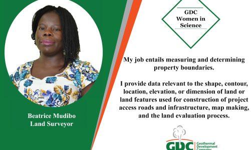 #GDCTeam Beatrice Mudibo