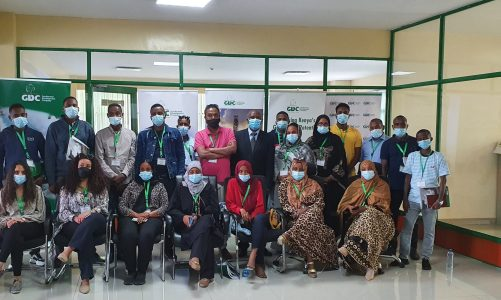 ODDEG team undergoing Geothermal Specialized Training in Menengai