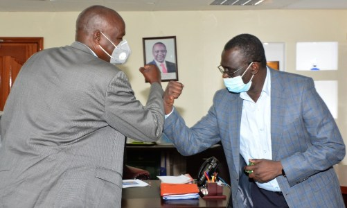 Baringo Governor pays a courtesy call to MD & CEO