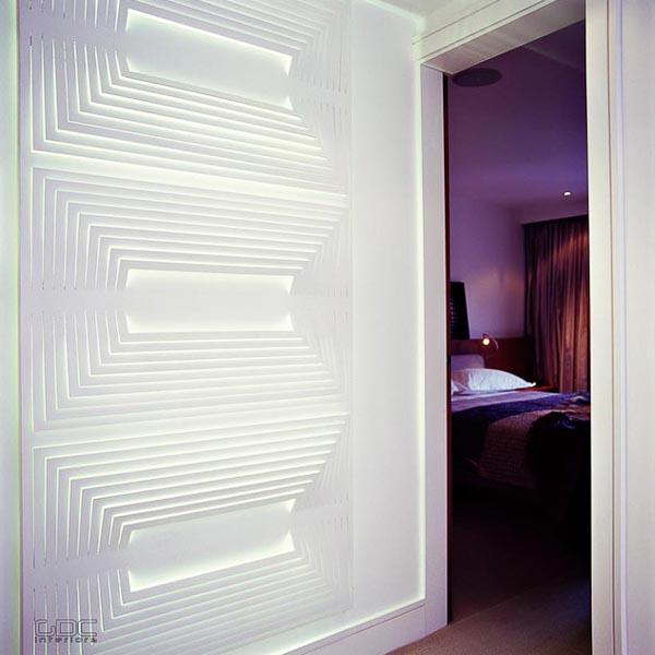 The Debonair Penthouse By A London Interior Designer: London Penthouse By GDC Interiors