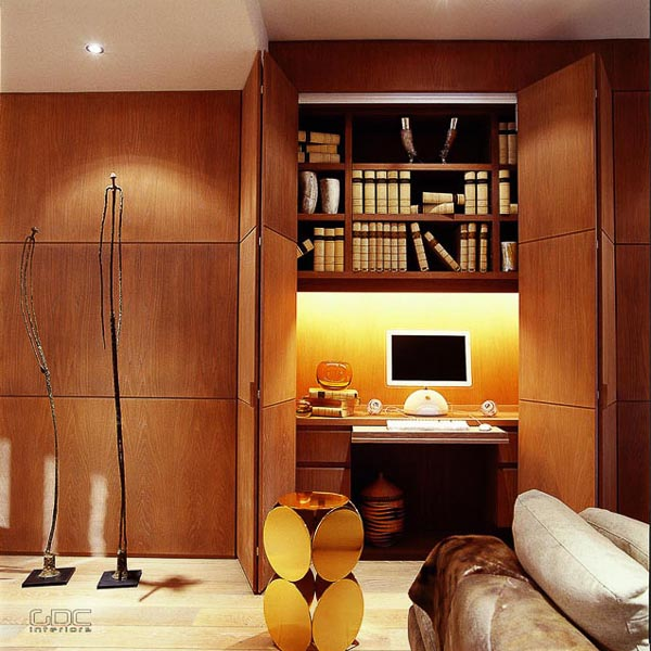modern contemporary home interior design London penthouse by GDC interiors