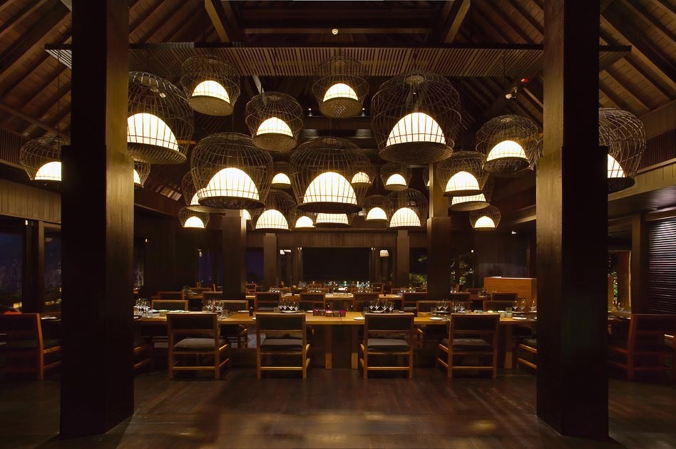 Bvlgari Bali restaurant lighting GDC interiors Journal review