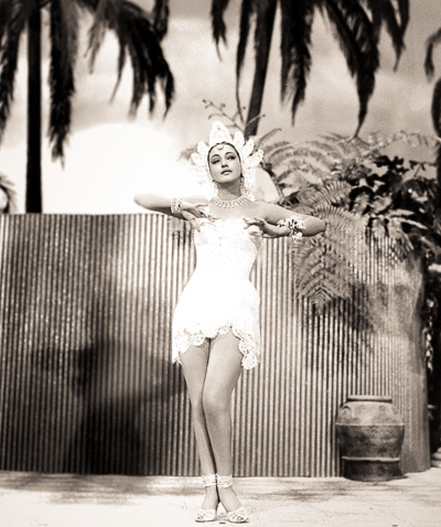 Road to Bali Balinese princess played by Dorothy Lamour