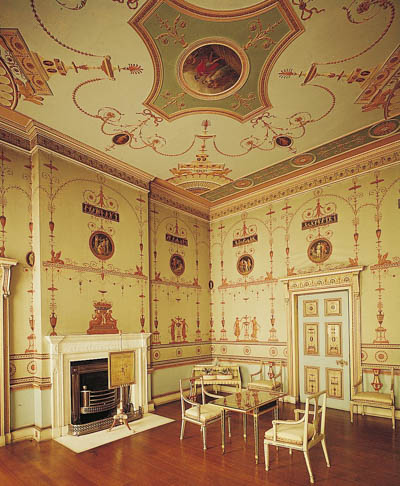 The Etruscan Room at Osterley Park