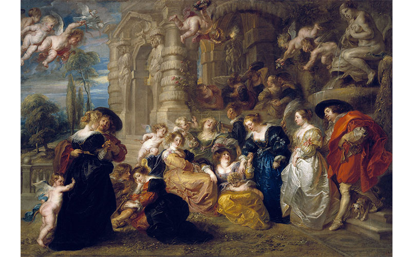 Rubens and his legacy The Garden of Love