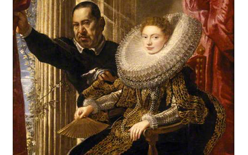 Rubens and his legacy Portrait of Maria Grimaldi and Dwarf