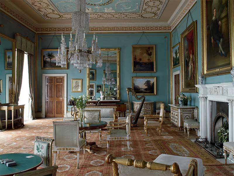 THE DRAWING ROOM: English Country House Decoration at Attingham Park