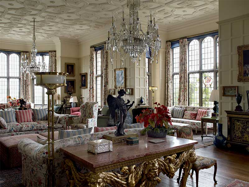 THE DRAWING ROOM: English Country House Decoration at Madresfield Court