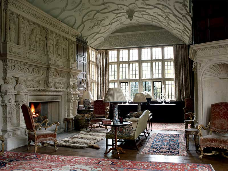 THE DRAWING ROOM: English Country House Decoration at South Wraxall Manor
